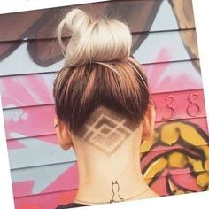 Under cut inspiration anyone up for a change ?! #hairstylist #tuesday…