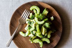 Crunchy Creamy Cucumber Avocado Salad recipe on Food52