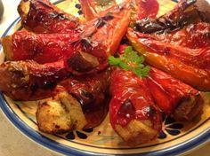 Recepti i Ideje: Jednostavno klasično jelo u kojem ćete uživati. Albanian Recipes, Albanian Food, Pot Roast, Chicken Wings, Sausage, Recipies, Pork, Veggies, Cooking Recipes