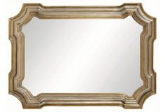 Conthey Wall Mirror, Silver