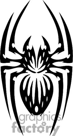 Cartoon of Tribal spider vector clip art image number Image formats available GIF, JPG, PNG and printable EPS, SVG. Tribal Animal Tattoos, Tribal Drawings, Tribal Animals, Tattoo Drawings, Body Art Tattoos, Sleeve Tattoos, Tattoo Animal, Arte Tribal, Tribal Art