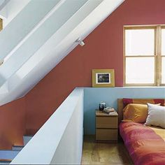 Photo: Deborah Whitlaw-Llewellyn | thisoldhouse.com | from Red, Yellow, Blue, and Green  this is an idea i've been rolling around