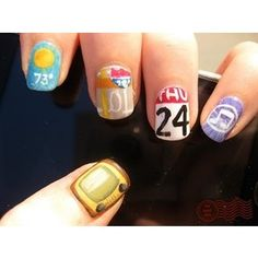 And the Weather is..Check your Nails!