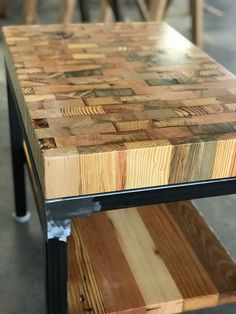 Wood Shop Projects, Reclaimed Wood Projects, Recycled Wood Furniture, Rustic Wood Furniture, Diy Wood Furniture Projects, Best Wood For Furniture, Garage Furniture, Wood Projects That Sell, Carpentry Projects