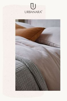 Do bedtime right with the softest, cosiest bedspreads and quilts, made with the finest natural fibres out there. Discover more from URBANARA. Natural Bedroom, Soft Blankets, Bed Spreads, Linen Bedding, Things To Think About, Rest, Pillows, Home, Linen Sheets