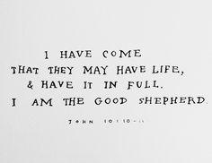 John 10:10-11
