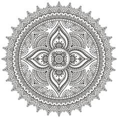 Circle Mandala Circle mandala designs can have many different meanings and multiple circles within mandala designs add a whole new list of symbolic meanings. The circle is at the heart of mandalas. However, the mandala could basically be a circle with a Mandala Art, Mandala Design, Circle Mandala, Mandala Pattern, Geometric Mandala, Mandala Coloring Pages, Colouring Pages, Adult Coloring Pages, Coloring Books