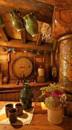 The Green Dragon Inn in Hobbiton, Matamata, New Zealand