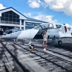 Meet @c_rosenoff shes a private pilot and is the maintenance / logistics assistant for Draken International (pretty cool!). Shes one of our members and helps out with all of our events.  She inspires to be a helicopter pilot / A&P and hopes to land her dream job one day as a Director of a Maintenance. . . . #femalepilot #pilotlife #aviatrix #aviation #avgeek #whyifly #instapilot #airplane #stemeducation #womeninaviation #wai #learntofly #femalemechanic #mechaniclife #mxlife #aerospace…