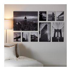 GRÖNBY Picture, set of 9  - IKEA