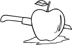 The Best Way To Cut An Apple Coloring Page : Coloring Sky Apple Coloring Pages, Coloring Pages For Kids, Apple Picture, Online Coloring, Hello Everyone, Good Things, Sky, Heaven, Coloring Pages For Boys