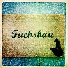 Fußmatten - Kokosmatte Fuchsbau, Hasenhöhle Fußabtreter - ein Designerstück von matt-erie bei DaWanda