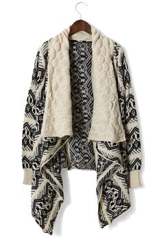 Love comfy sweater cardigans for Fall.