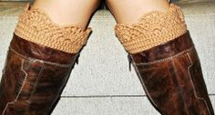 How To Crochet a Boot Cuff Video Lesson