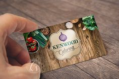 ECLECTIC, ELEGANT, ETHEREAL CUISINE AND CATERING - Kenwood Catering, LLC / Brand Development // Website, Business Card & Logo Design | Kristen Spector Design