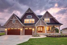 Storybook House Plan with Open Floor Plan - 73354HS | 2nd Floor Master Suite, Butler Walk-in Pantry, CAD Available, Country, Craftsman, Den-Office-Library-Study, Exclusive, Jack & Jill Bath, Loft, Luxury, MBR Sitting Area, Media-Game-Home Theater, PDF, Photo Gallery, Premium Collection, Sloping Lot | Architectural Designs