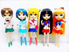 sailor moon PGSM pullip doll 2013 by champza_2006, via Flickr