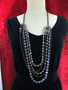 Premier Designs Kaleidoscope Necklace BNIB #PremierDesigns #Chain