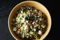 A salad that's like deconstructed dolmas - Grape Leaf Pilaf recipe on Food52