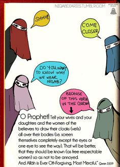 the reason behind women wearing the veil. Allah u akbar Hijab Quotes, Muslim Quotes, Islamic Inspirational Quotes, Islamic Quotes, Islam Marriage, Islam Women, All About Islam, Islam Facts, Islamic Pictures