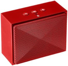 AmazonBasics Ultra-Portable Mini Bluetooth Speaker - The ultra-portable speaker that has a dimension of 3.3 x 1.7 x 2.6 inches. Stream your music wirelessly for up to 10 hours via Bluetooth. To get more updates, follow Best Buy Portable Speakers.