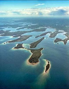 In the southeast part of the UP, at the northern end of Lake Huron, are the beautiful Les Cheneaux Islands. If you haven't done so, visit Hessel, Cedarville, DeTour Village, and Drummond Island. It's well worth your time!  Photo by Photography Plus http://www.photography-plus.com/project/Islands.htm