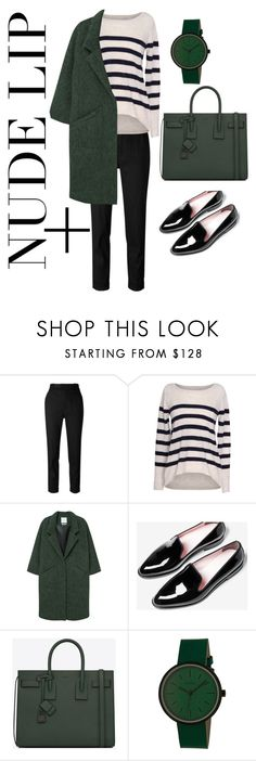 """3"" by zavyalya ❤ liked on Polyvore featuring Étoile Isabel Marant, Velvet by Graham & Spencer, MANGO, Everlane, Yves Saint Laurent and Simplify"