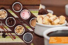 Fotografía de productos / gastronomía - Tabla de helados