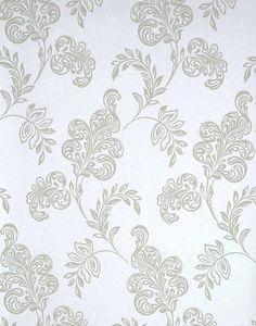 Karimah Light Blue Jacobean Wallpaper
