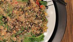 lank leef slaai Camping Meals, Healthy Options, Fried Rice, New Recipes, Grains, Salads, Veggies, Fruit, Eat