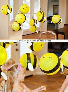 Balloon Bumblebees