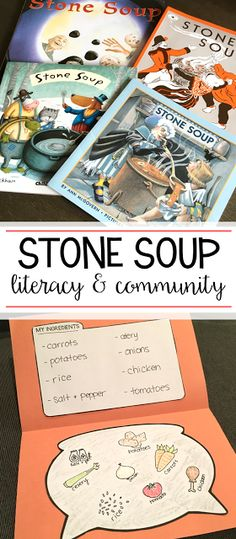 I love having my students read Stone Soup around Thanksgiving! There are so many great activities to do with students focusing on literacy and community. Read the post to see some of them!
