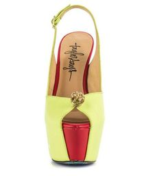 The Taylor Says Prince Pumps Feature Whimsical Style #shoes trendhunter.com