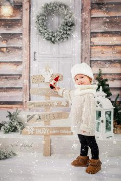 Babies First Christmas, Decoration, Photo Sessions, Ladder Decor, Merry Christmas, Baby, Bright, Distance, Home Decor
