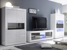 Basic Modern Italian Wall Unit 01 by LC Mobili - $1,799.00