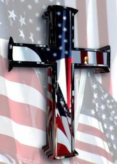 Old Glory & Cross