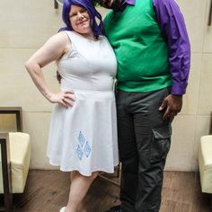 Otakon Cosplay Spotlight: Kat And DJ Ranma S As Spike And Rarity From My Little Pony