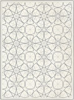 BOU 106 : Les éléments de l'art arabe, Joules Bourgoin | Pattern in Islamic Art: