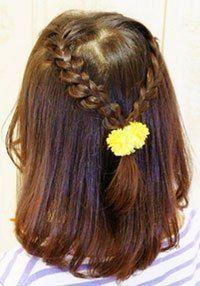 女の子 子供 の髪型アレンジ 編み込みヘアのやり方 画像 動画 ゆるぐらし 子供 髪型 女の子 ヘアアレンジ キッズ髪型
