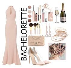 """""""Rose 🌹"""" by miihellis on Polyvore featuring Gianvito Rossi, Chanel, Exclusive for Intermix, Terre Mère, Charlotte Tilbury, AERIN, Red Camel, Krosno, Rebecca Minkoff and Christian Dior"""