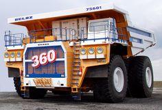 Dump truck BELAZ
