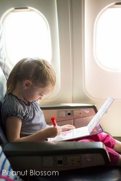 Tips for flying with kids: Great ways to survive a long flight with little ones.