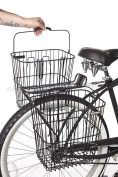 Sunlite Fil//Maille rack Top Noir Arrière Vélo Panier