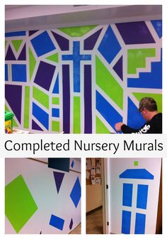 Painting the Church Nursery with Disney Ultra Durable Paints from Walmart (sponsored post)