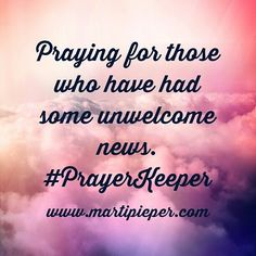 God is never surprised. #PrayerKeeper