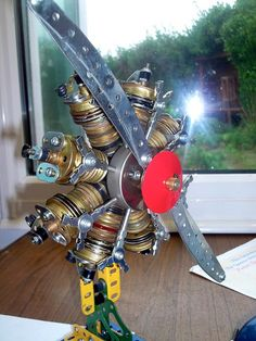 Bristol Bulldog Jupiter engine on engine stand | Flickr - Photo Sharing!