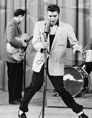 Elvis Presley  Loved this guy, even though he died when i was 16, I loved watching him!Never saw him in concert, but I could have been a groupie!