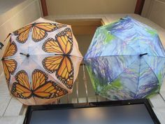 Butterfly umbrellas