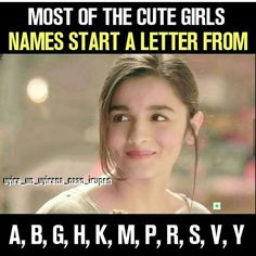 My name starts from V 😊😊💞💞💖💖💖💞💝💓. And I don't need CONFIRMATION from someone that 'Am I cute?' Coz people who deserve me know that I'm cute. Crazy Girl Quotes, Funny Girl Quotes, Real Life Quotes, Bff Quotes, True Love Quotes, Reality Quotes, Best Friend Quotes, People Quotes, Friendship Quotes