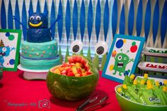 A Monster First Birthday Party - The Photographer's Wife